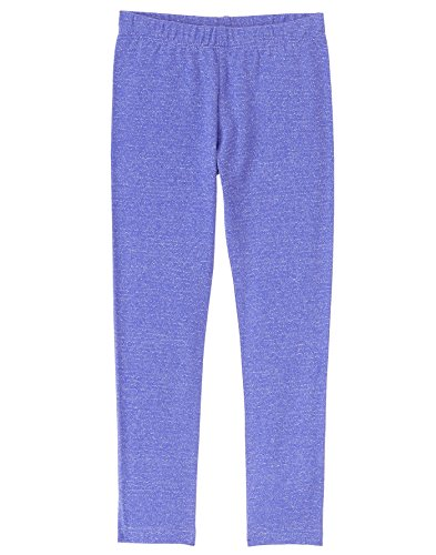 Metallic Stripe Pants - Gymboree Little Girls' Sequin Stripe Legging, Blissful Blue, L