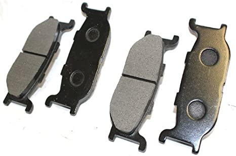 Front Brake Pads /& Rear Shoes For Yamaha XVS650A V-Star 650 Classic 1998-2010