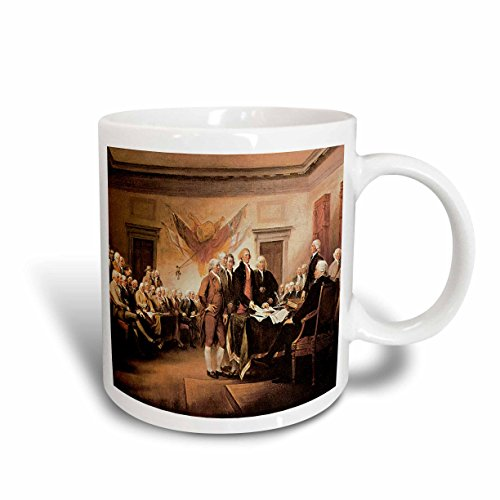 3dRose mug 126872 1 Declaration Independence Trumbull