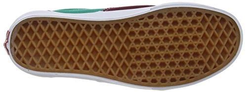 Vans Era - Zapatillas de skate unisex Burgundy (Golden Coast - Windsor Wine/Alhambra)