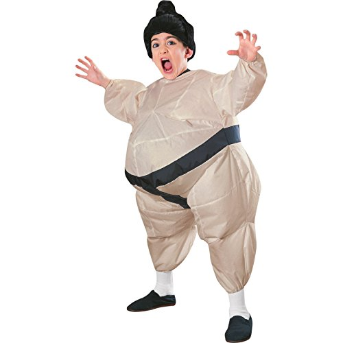 Inflatable Sumo Child Costume - One Size -