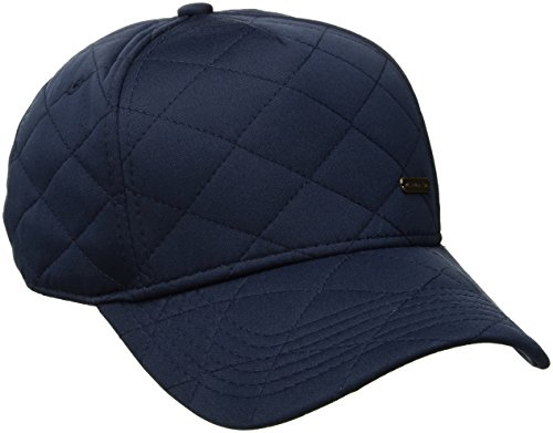 U.S. Polo Assn. Quilted Jersey Women's Baseball Cap, Curved Brim, Adjustable, Navy, One Size (Jersey Quilted)