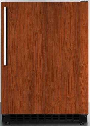 Summit AL54IF 24″ ADA Compliant Commercial Compact Refrigerator with 4.8 cu. ft. Capacity Factory Installed Lock Frost Free Operation Open Door and High Temperature Alarm in Panel