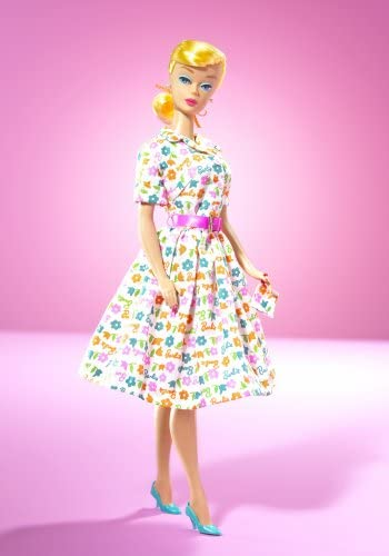 Barbie Doll Learns To Cook Blonde Gold Label