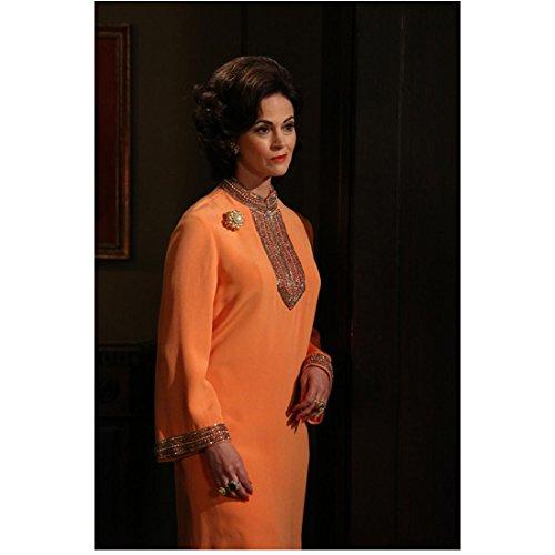 Mad Men Jessica Pare As Megan Draper In Orange Dress 8 x 10 - Megan Draper