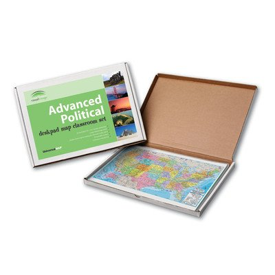 Advanced Political Deskpad Class Set - United States by Universal Map