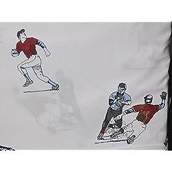 baseball TWIN SIZE sheet set (baseball players)