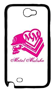 Metal Mulisha Pink Custom PC Transparent Case for Samsung Galaxy Note II N7100 by icasepersonalized by mcsharks