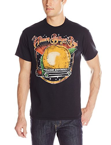 Merchandise Allman Brothers - FEA Men's Allman Brothers Band Space Peach T-Shirt, Charcoal, Small