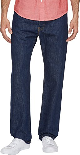 Regular 505 Fit Levis Denim (Levi's Men's Made in The USA 505 Regular Fit Jean, Rinse, 38 32)