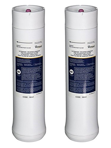 090259890439 - Whirlpool WHEERF Replacement Pre/Postfilter Set for WHER25 Reverse Osmosis System carousel main 0