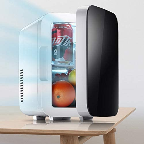 ZZWBOX Nevera termoeléctrica portátil Calor,6Lmini Nevera electrica Oficina,12V Mini frigorífico con congelador,frigorífico portátil,Mini Nevera electrica portatil,Black: Amazon.es: Jardín