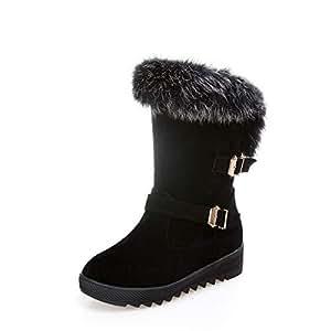 Amazon.com: XQY Women's Boots - Winter Cotton Shoes/Thick