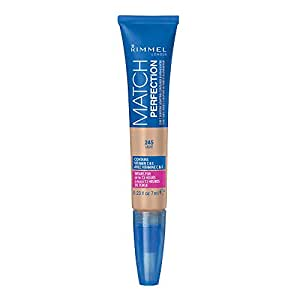 Rimmel Match Perfection 2-in-1 Concealer and Highlighter, Light