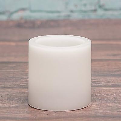 Richland Flameless LED Pillar Candle Set of 6
