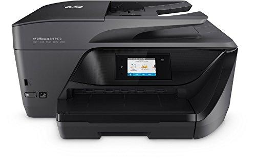 HP OfficeJet Pro 6970 Multifunktionsdrucker (Drucker, Scanner, Kopierer, Fax, HP Instant Ink, WLAN, LAN, HP ePrint, Apple Airprint, USB, 600 x 1200 dpi) schwarz