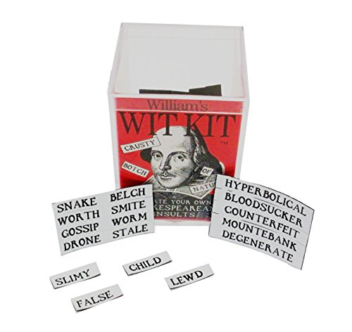 Williams Shakespearean Insults Magnetic Poetry Product Image