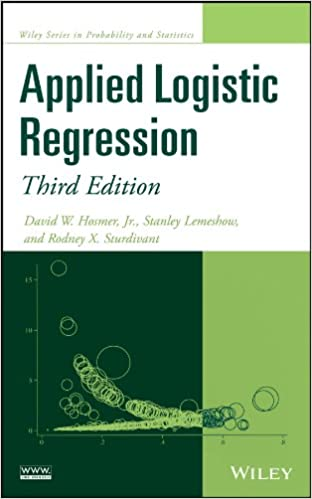 Applied Logistic Regression (Wiley Series in Probability and