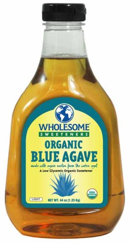 Wholesome Sweeteners - Organic Blue Agave, 44 Ounce -- 6 per case. by Wholesome Sweeteners