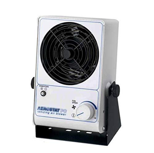 110V 25W PC Ionizing Air Blower Fan Ion Anti-Static Ionic Fan Electrostatic Ion Electric Fan Static Elimination Ion Blower/ESD Air Blower Fan