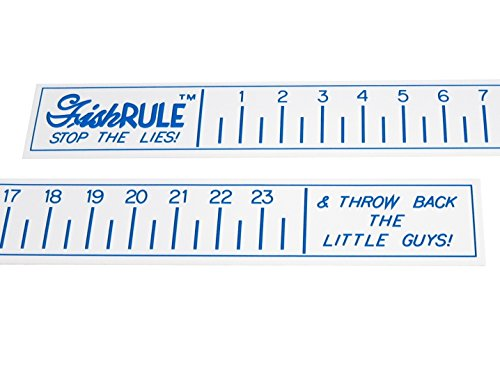 Fish Ruler - 24 inch Boat Ruler - Fishing Measuring Tape by FishRule