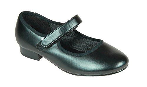 Tappers & Pointers - Zapatillas de danza para niña negro - negro