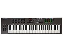 Nektar Impact Lx61+61 Key Keyboard Midi Controller With Built In Daw Integration