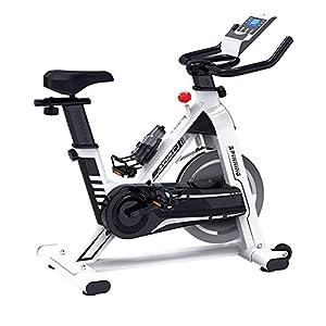 41UWmY2cpdL. SS300 Allenamento Spin Bike Professionale Cyclette Aerobico Home Trainer, Portaborraccia Sportivo, Staffa Multifunzionale, Doppio Volano, Orologio Elettronico Multifunzionale, Sistema Di Resistenza Inf