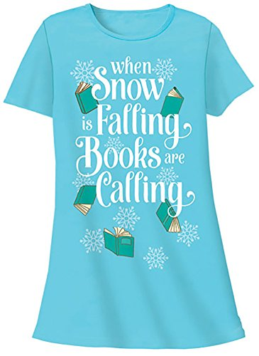 Relevant Products Sleeper Shirts w/Cotton Sack (One Size, Snow Is Falling Books)