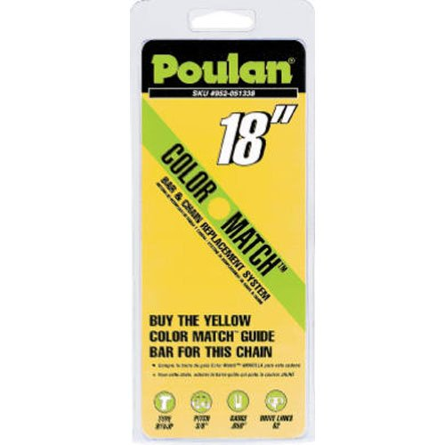 poulan/weed eater 051338 Poulan Pro, 18'' Replacement Chain Saw Cutting Chain by Poulan Pro
