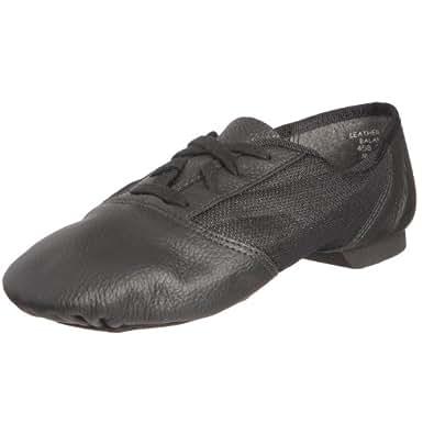 Capezio - Chaussures À Lacets En Cuir Unisexe, Noir (noir), 35 Eu