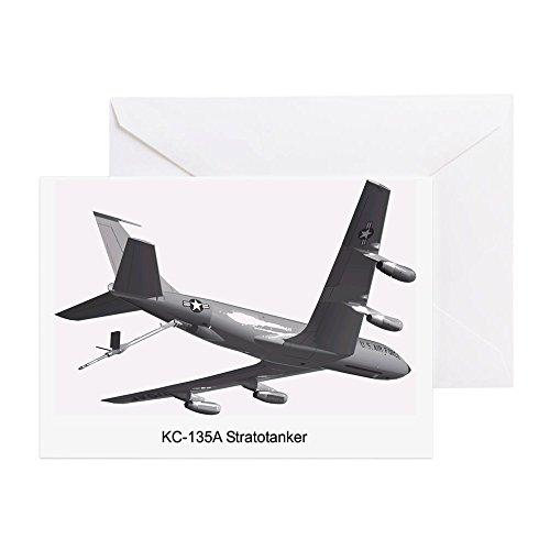 (CafePress - KC-135 Stratotanker - Greeting Card, Note Card, Birthday Card, Blank Inside Matte)