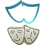 """Theater Mask Plast-Clusive Cookie Cutter 4"""" PC0305"""