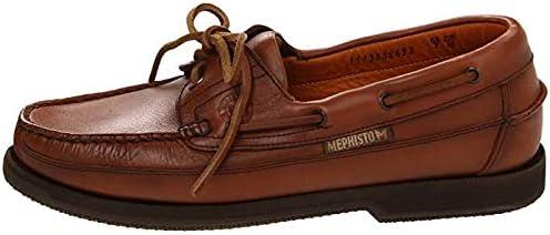 メンズスリッポン・ボートシューズ・靴 Hurrikan Rust Smooth Leather (Hazelnut) 32cm D - Medium [並行輸入品]