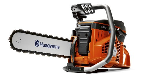 Husqvarna 966037802 K970 Concrete Chain Saw with Bar]()