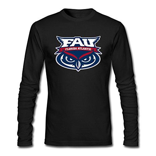 Hanini68 Florida Atlantic University Boys' Tshirt Organic Cotton Comfortable ()