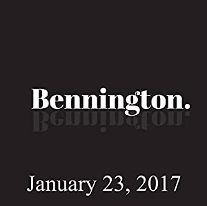 Bennington, January 23, 2017 Radio/TV Program