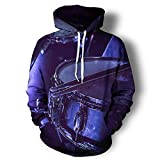 Drums Musical Instruments 3D All Over Print Hoodies Hip Hop Style Pullover