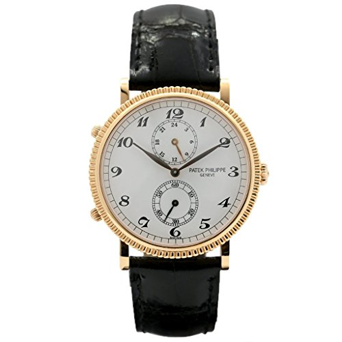 Patek Philippe 18k Rose Gold Travel Time-Certified Pre-Owned