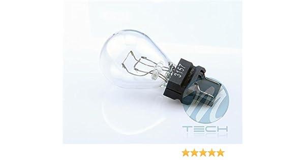 10 bombillas halógenas (1 caja) 3157 27/7W 12V W3*16D CLEAR: Amazon.es: Coche y moto