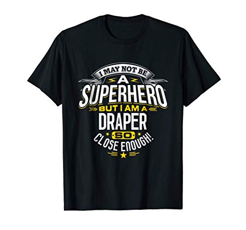 Draper T Shirt Gift Idea Superhero Draper T-Shirt
