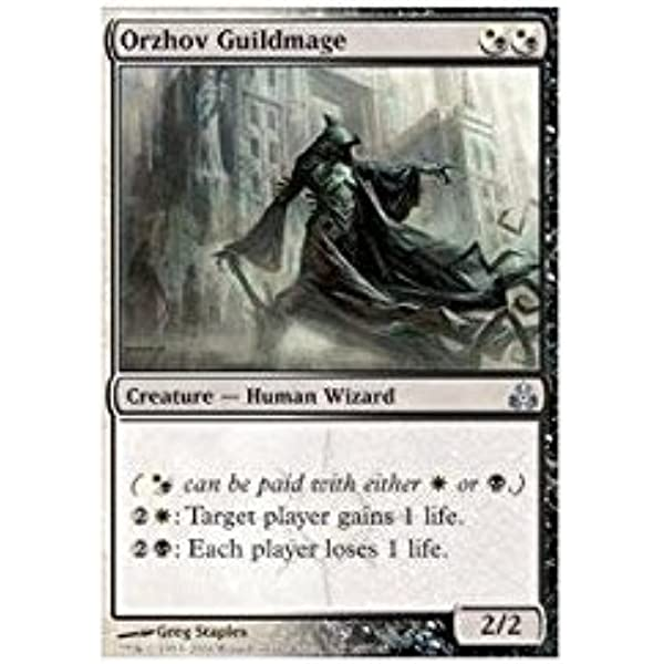 Amazon Com Magic The Gathering Orzhov Guildmage Guildpact Toys Games Each player loses 1 life. orzhov guildmage