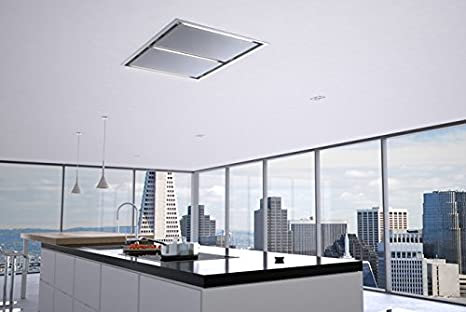 Accessories Ceiling Mounted Kitchen Extractor Fan : Amazon.com: Zephyr  ALU E43ASX 43
