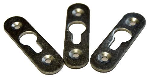 Keyhole Hardware - Extra Heavy Duty Key Hole Hanger 10 Pack with Screws
