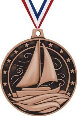 (Crown Awards Sailboat Medals - 2