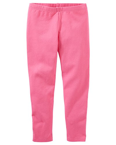 Osh Kosh Girls' Kids Full Length Legging, Pink, 7 -