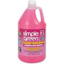 Simple Green 11101 Clean Building Bathroom Cleaner Concentrate, Unscented, 1 gal Bottle