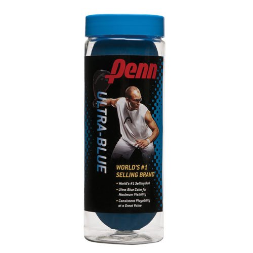 Penn Ultra-Blue Racquetball 3/Cn