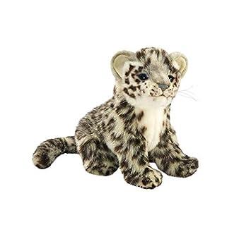 Hansa peluche leopardo de las nieves sentado 20 CMH/20cml: Amazon.es ...