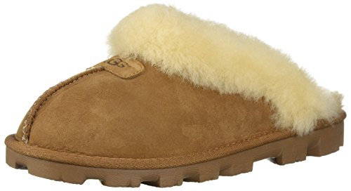 (UGG Women's Coquette Chestnut Slipper - 8 B(M) US)